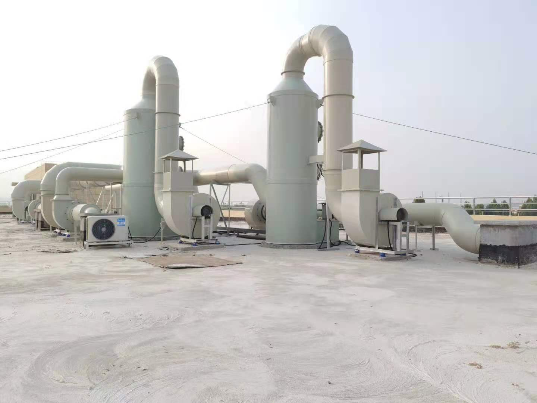 实验室通风及废气处理-喷淋塔
